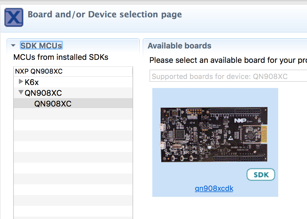 QN9080のプロジェクト取り込み